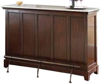 Avi Brown Bar Table