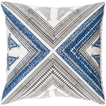 Designer Navy Throw Pillow