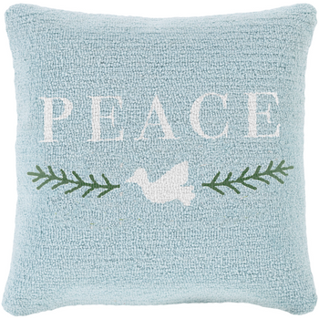 Designer Peace Pillow