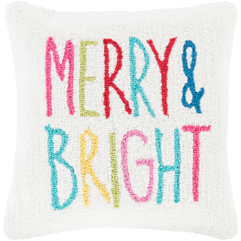 Designer Merry Throw Pillow