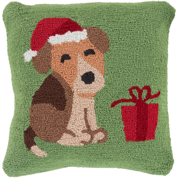 Designer  Dog Throw Pillow