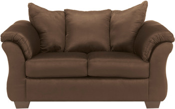 Edeline Cafe Plush Loveseat
