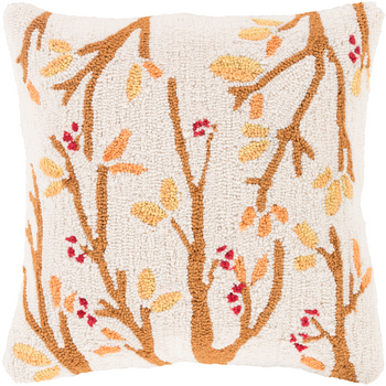 Designer Fall Branches Pillow
