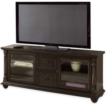 Alley Charcoal TV Stand With Drawers