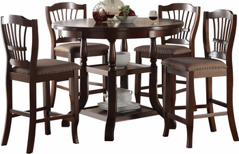 Scarlett 5 Piece Counter Height Set