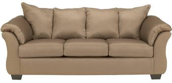 Edeline Mocha Full Sofa Sleeper with Mattress