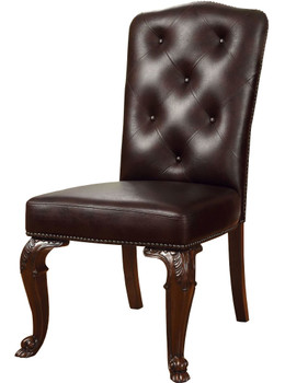Federico Faux Leather Chair