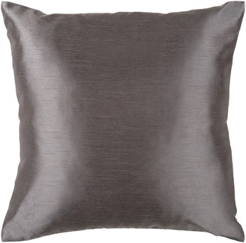 Felicia Designer Charcoal Pillow
