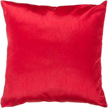 Felicia Designer Bright Red Pillow