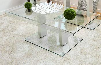 Korene Glass Coffee Table