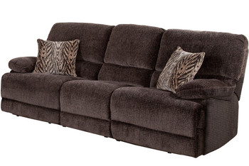 Novena Hidden Storage Reclining Sofa