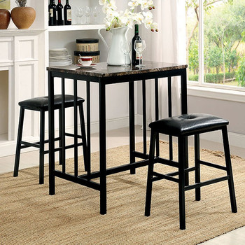 Asher 3-PC Counter Dining Set