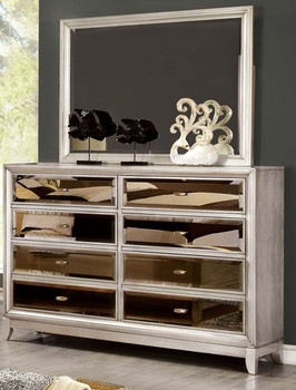 Lanai Silver Dresser & Mirror