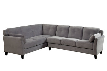 Chelsey Warm Gray Sectional