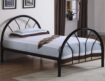 Merrick Black Twin Metal Bed