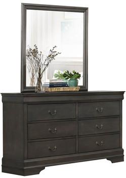 Jed Gray Dresser & Mirror