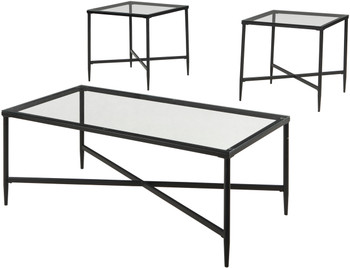 Ovinna 3 Piece Table Set