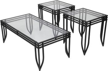 Lakin 3 Piece Table Set