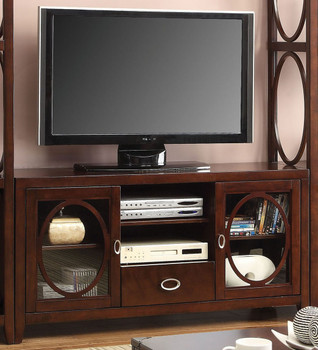 """Albright Cherry 56"""" TV Console"""