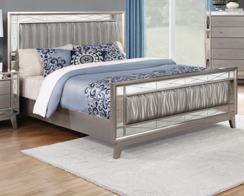 Tillary Metallic Bed