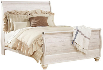 Cresthill Sleigh Bed