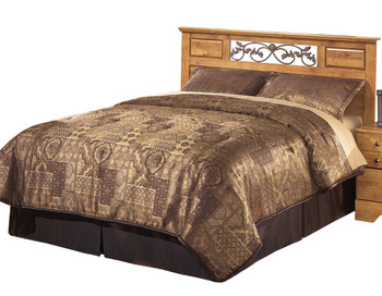 Barrowhill Pine Queen & Full Headboard Bedroom