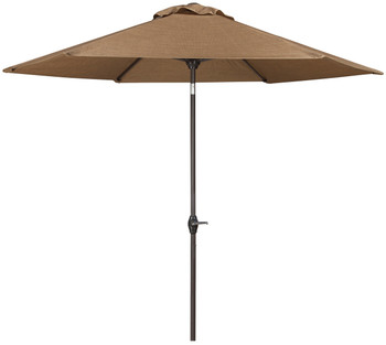 Dan Brown Outdoor Med Umbrella with Base