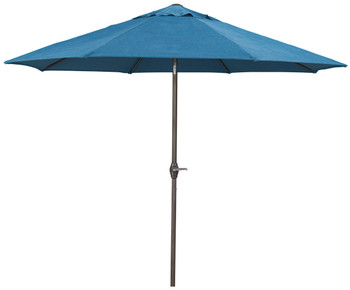 Dan Blue Outdoor Med Umbrella with Base