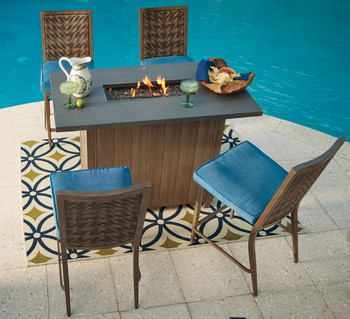 Boboli Outdoor 5 PC Bar Set