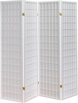 Samson White Room Divider