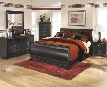 Paris Black Bedroom Set