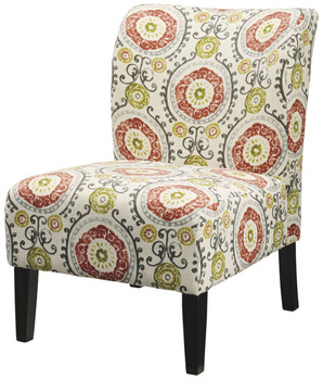 Aletha Floral Accent Chair