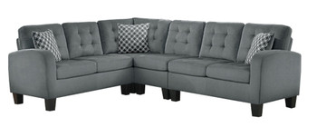 Bayley Gray Sectional