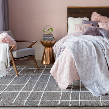 Merilin Gray Designer Pillow