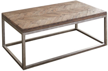 Kaine Distressed Natural Honey Coffee Table