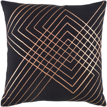 Adwoa Black Designer Pillow
