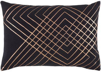 Adwoa Black Kidney Pillow