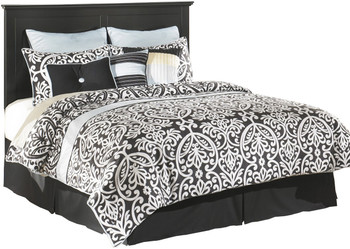 Lucia Black Headboard Bedroom Set