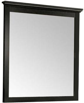 Lucia Black Dresser & Mirror