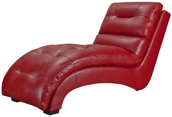 Stella Red Chaise