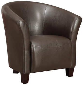 Anda Brown Accent Chair