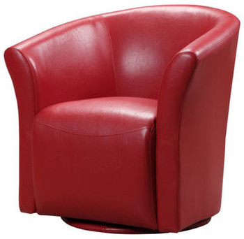 Taree Red Swivel Chair