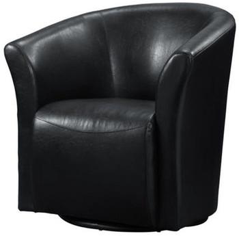 Taree Black Swivel Chair
