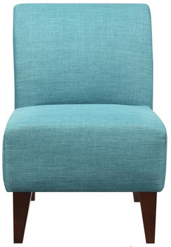 Amie Light Blue Accent Chair