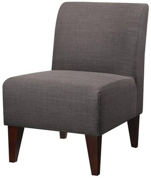 Amie Gray Accent Chair