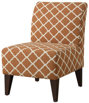 Amie Orange Accent Chair