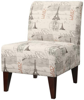 Amie Beige Accent Chair