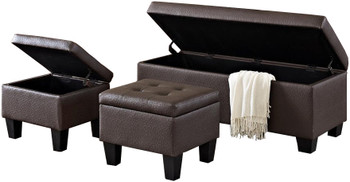 Hank Brown Bench & Ottomans