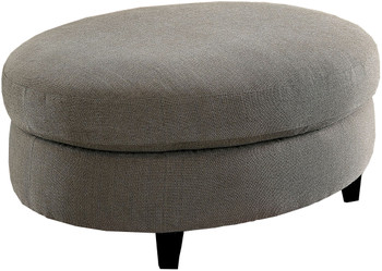 Cornell Gray Ottoman