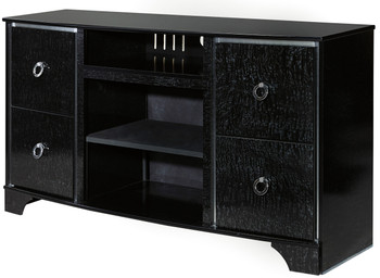 Monique Black 3-PC Wall Unit